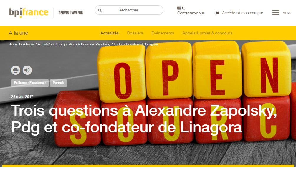 Alexandre Zapolsky interviewé par BPI France