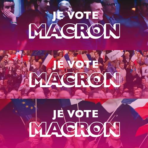 Je vote macron
